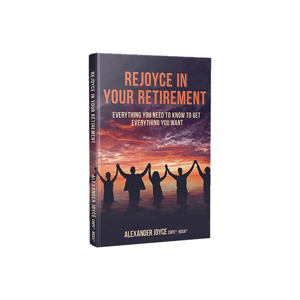 rejoyce in your retirement book